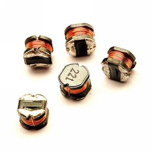 10PCS CD43 220uH 221 SMD Power Inductors 4mm×3mm NEW