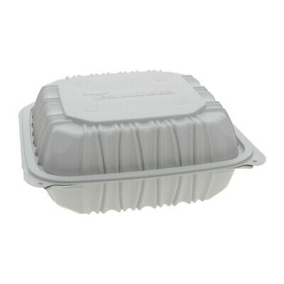 Pactiv Earthchoice 8.5 X 8.5 X 3.1 Vented 3-compartment Container 146case