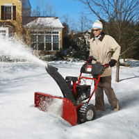 Looking for someone to snowblow my driveway this winter.