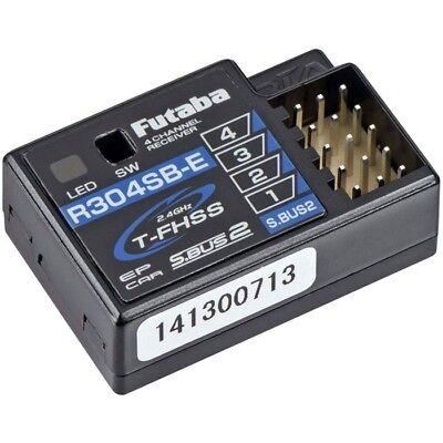 Futaba R304SB-E 4-Channel 2.4GHz TFHSS Telemetry Receiver FUTL7681 / (3 Channel 4 Channel Receiver)