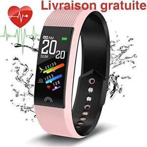 Montre intelligente avec moniteur de frequence cardiaque / Smart Watch