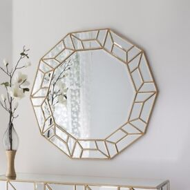 Hundreds of New round mirrors from £19 -£299