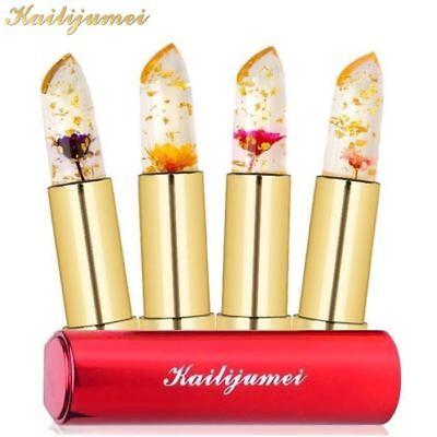 Original Kailijumei Flower Jelly Lip Stick Color Change Lipstick Lips UK Stock