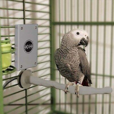 "K&H Pet Products Snuggle Up Bird Warmer Gray Small/Medium 5"" x 3"" x 0.5"" KH9050"