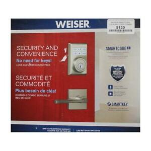 Weiser Smartcode Lock And Lever Combo