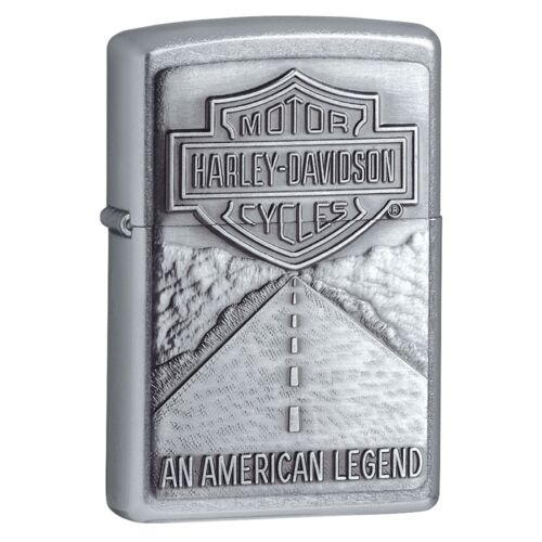 Collectable Harley Davidson Legend Street Chrome ZIPPO LIGHTER  20229