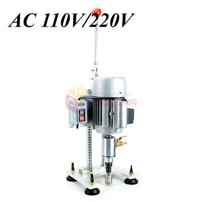 New 110v Small Hand Glass Drilling Machine Mini Glass Punching Reamer Machine