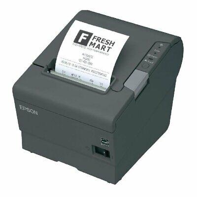 Epson TM-T88-IV Thermo-Bondrucker USB schwarz TOP-Zustand TMT-88-IV TMT-88IV ()