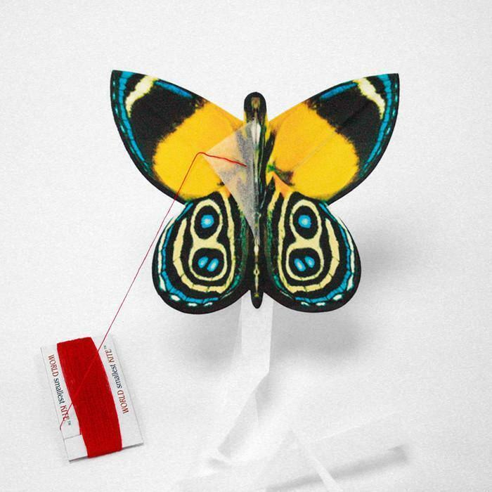 2 pcs set world smallest kites butterfly