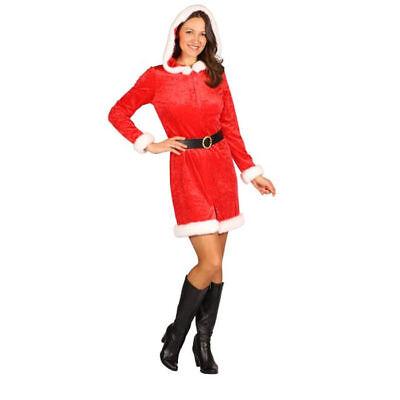 Damen-Kostüm Weihnachtsfrau Kleid Nikolaus Kostüm für Frauen