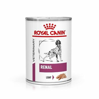 Royal Canin Canine Adult Renal Veterinary Diet Wet Dog Food Cans - 12 x 410g