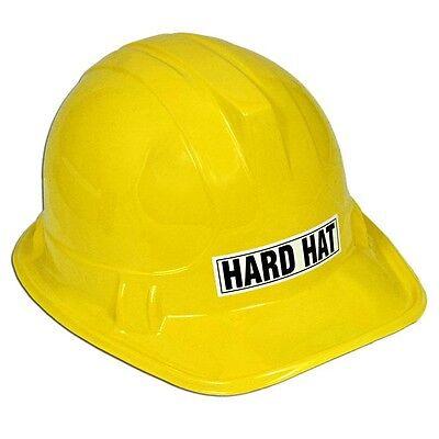 Bauarbeiter Spiel-Schutzhelm für Kinder ab 6 Jahre, gelb, für (Kunststoff Schutzhelm Für Kinder)