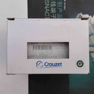 1pc New Crouzet Plc Logic Controller Cd12 88970041