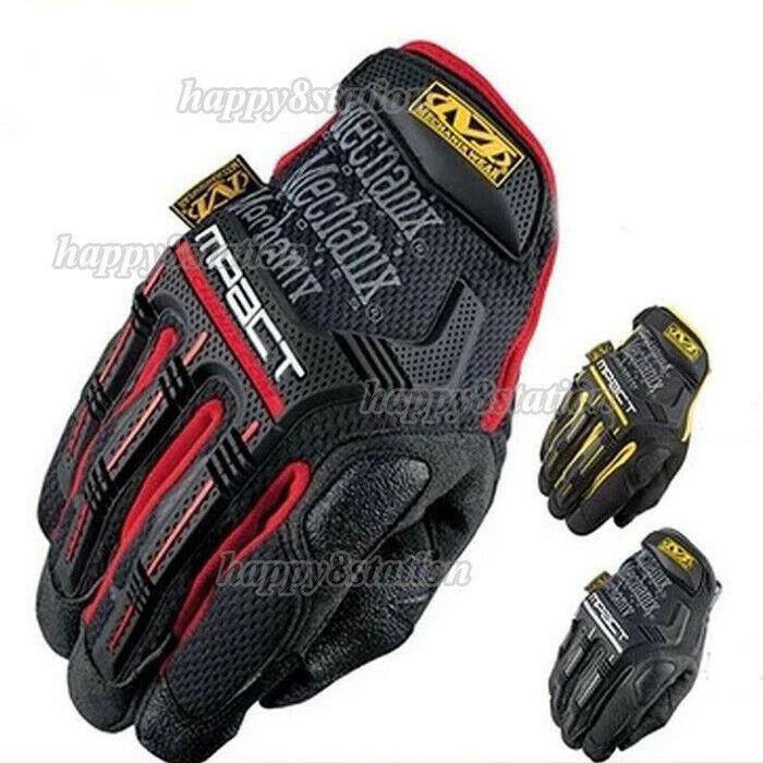 NEW Mechanix M-Pact Tactical Gloves Military Bike Race Sport Mechanic Wear