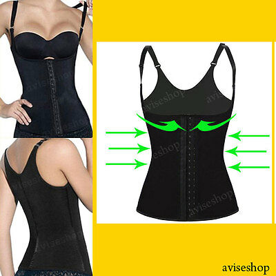 #1 Best Underbust Straps Waist Cincher Vest Trainer Corset Shaper Workout