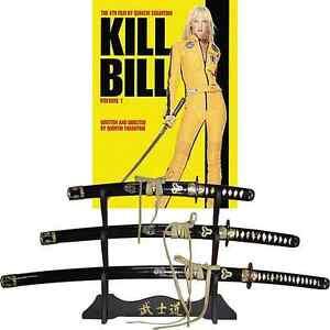Set of 3 -Kill Bill Swords