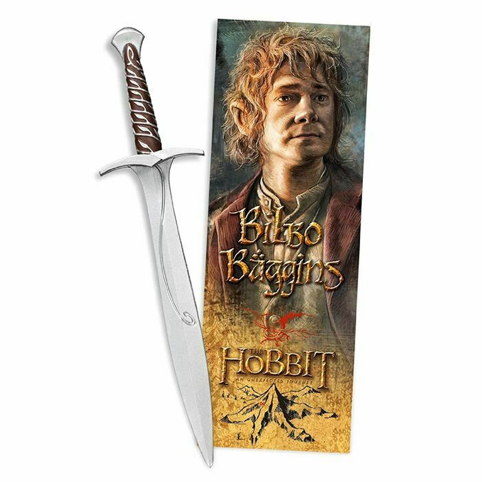 The Hobbit Sting Sword Replica Pen and Lenticular Bookmark - Noble Collection