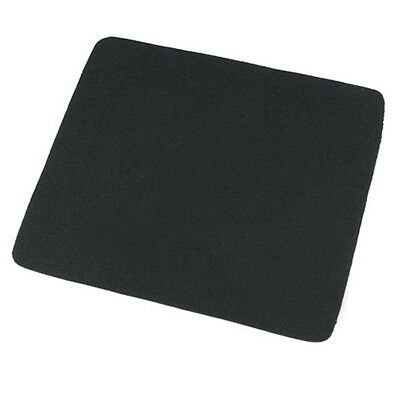 22*18cm Universal Mouse Pad Mat for Laptop Computer Tablet PC Black Excellent
