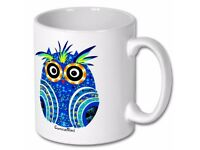 Original funny Owl mug