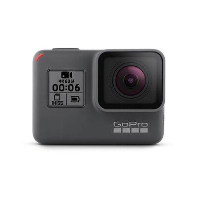 GoPro HERO6 Black Action-Kamera Wasserdichte 4K HD - Zertifiziert Aufgearbeitet