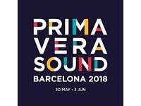 Primavera Sound 2018 Tickets