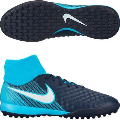 3cc2008ef Nike Magista Onda II Dynamic Fit Artificial Men Turf Soccer Shoe Blue  917796 414