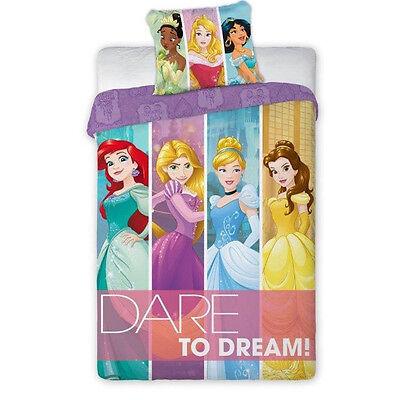Disney Bettwäsche Princess Prinzessin Ariel, Arielle, Rapunzel Sophia - Disney Princess Sofia