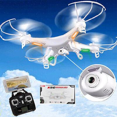SYMA X5C 2,4 Ghz 4CH 6 Achse Quadrocopter RTF Upgrade Drohne mit 3D HD Kamera