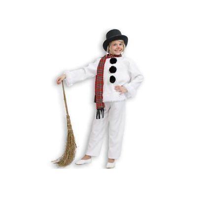 Kinder-Kostüm Schneemann, 3 tlg. Winterkostüm Weihnachten Schneemannkostüm