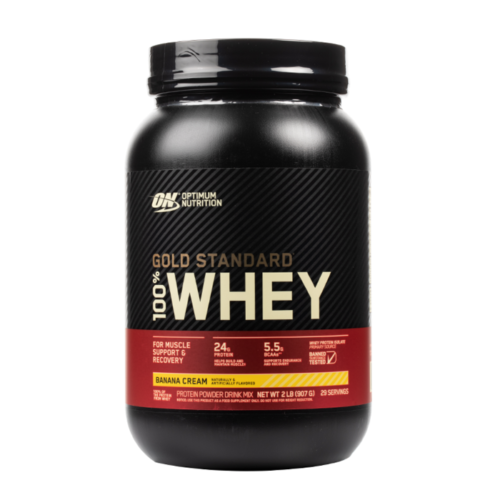 Optimum Nutrition - Gold Standard 100% Whey Protein Powder 2 lbs 27 Servings US