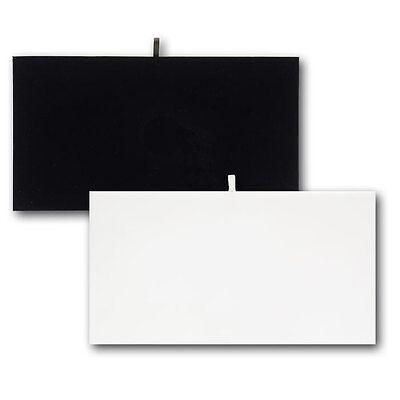 Full Size Padded Velvet Jewelry Tray Insert Liner Black 14 18 X 7 58