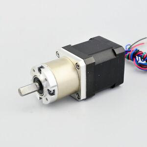 27 1 gear ratio planetary gearbox stepper motor nema 17 for Planetary gearbox for servo motor