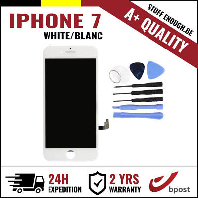A+ LCD SCREEN DIGITIZER DISPLAY/SCHERM/ÉCRAN WHITE BLANC & TOOLS FOR IPHONE 7