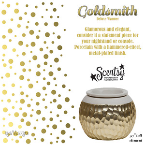 Goldsmith Scentsy Warmer Brand New In Box
