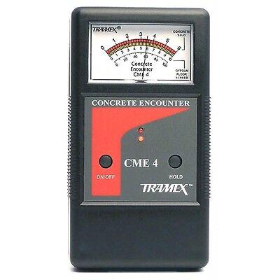 Tramex Cme4 Concrete Moisture Detector. Takes Non-invasive Measurements