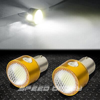 5 Projector Light Bulb - 2 X 1157 5W CREE Q5+5050 WHITE LED TURN/TAIL/BRAKE/STOP 12V PROJECTOR LIGHT BULB