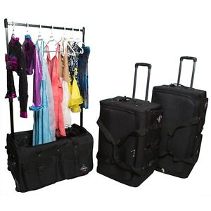 FOR THE DANCER RACK $ ROLL SUITCASE