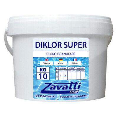 10KG Diklor Super - Cloro Granular para la Piscina