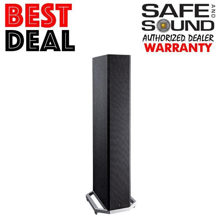 "Definitive Technology High-Performance 10"" 3-way Tower Speaker (Each) Black BP-9060ST"