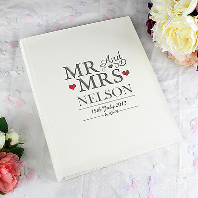 Personalized Wedding Albums (Wedding Gifts - Personalised Photo Albums -  Bride Groom, Same Sex)