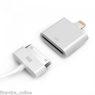 Official Apple Lightning To 30 Pin Adapter for iPod IPhone iPad (MD823ZM/A)