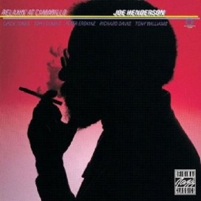 JOE HENDERSON - RELAXIN' AT CAMARILLO  CD NEU