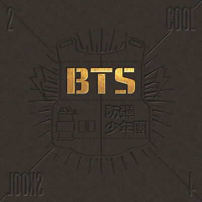 BTS [2 COOL 4 SKOOL] 1st Single Album CD+Photo Book+GIFT CARD K-POP SEALED