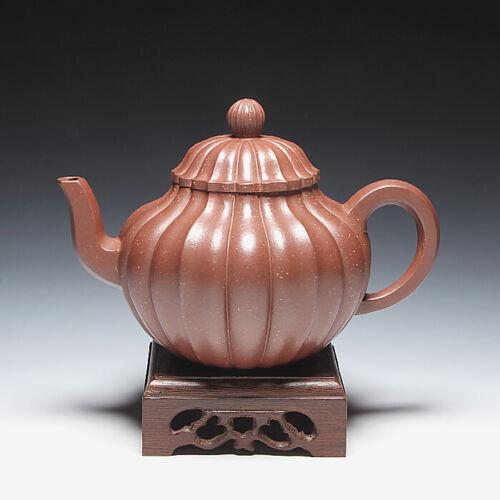 OldZiSha-Classic China Yixing Zisha Old 1st Factory Artisit  330cc Teapot,1990