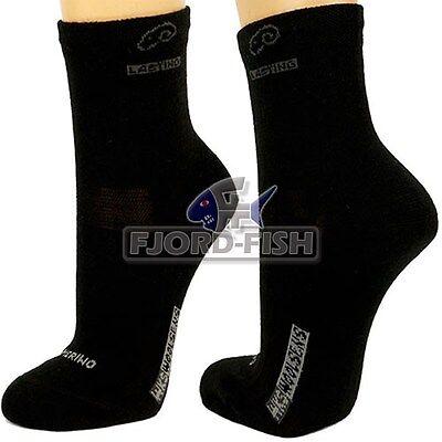 LASTING Trekkingsocken WKS 70% Merinowolle 42-45 Wander-Socke Lauf-Socken kurz