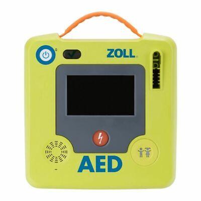 ZOLL AED 3 halbautomatisch Defibrillator Deutsch PlusTrac CPR Set NEU