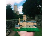 St Eds Lego Cathedral - Rare Limited Edition Lego Certified Professional Kits