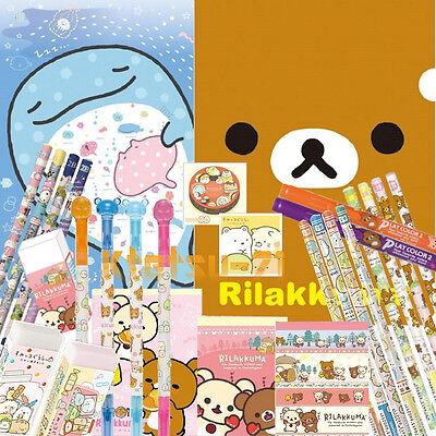 San-X Assorted Stationery Randomly 15pcs Sumikko Gurashi Rilakkuma Jinbesan etc.