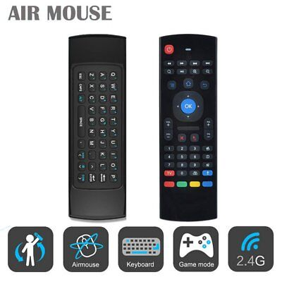 MX3 2.4Ghz Wireless Air Fly Mouse Keyboard Remote Voice Control For Android