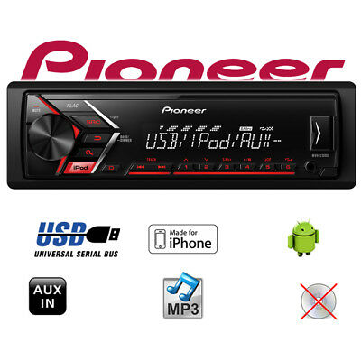 Pioneer MVH-S100UI - MP3/USB Android iPhone Autoradio KFZ Auto PKW Radio